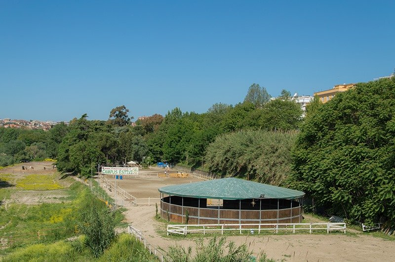 Il Giardino di Filly area picnic barbecue Roma